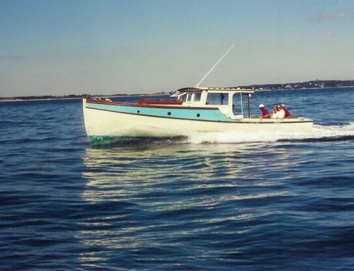 32' power boat Elisa Lee, 1999