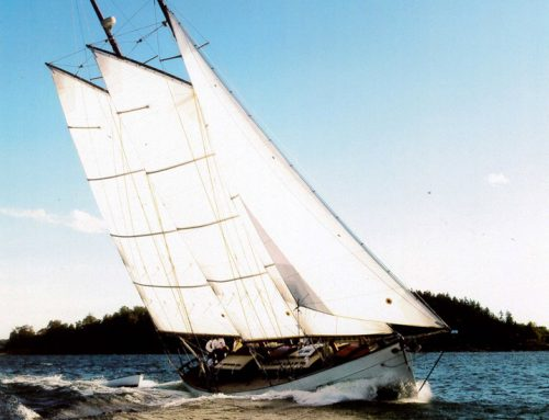 50' auxiliary schooner Charlotte, 2007