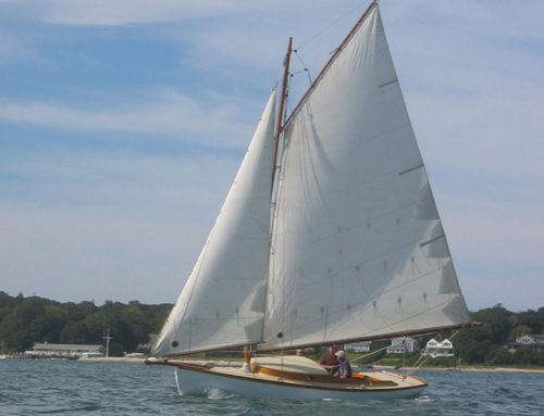 Cygnet, 23′ gaff sloop Swallows and Amazons (1985)