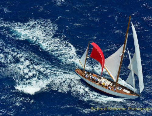 """Mah Jong"" Places 1st in Class at 2018 Antigua Classics Yacht Regatta"